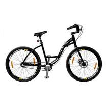 Bicicleta Master Bike Aro 26 Urbis Freio à Disco 3 V Nexus Preto -