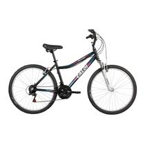 Bicicleta Mobilidade Caloi Rouge Aro 26 - Susp Dianteira - Quadro Alumínio - 21 Velocidades - Preto -