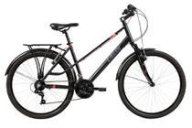 Bicicleta Mobilidade Caloi Urbam Aro 26 - Susp Dianteira - Quadro Alumínio - 21 Velocidades - Câmbio -