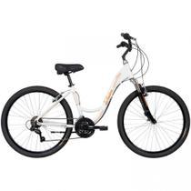 Bicicleta Mobilidade Schwinn Madison Aro 26 - Susp Dianteira - Quadro Alumínio - 21 Vel - Branco - Caloi