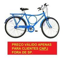 Bicicleta Monark Barra Circular Freios V Brake AZUL Aro 26 Cod 53025-9 para CNPJ -