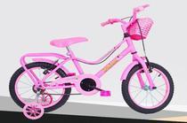 Bicicleta Monark Brisa Feminina Aro 16 Rosa Cod 53108-7 -