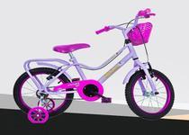 Bicicleta Monark Brisa Feminina Aro 16 Violeta Cod 53109-6 -