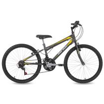Bicicleta Mormaii Aro 24 New Wave 21V C18  Grafite