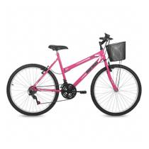Bicicleta mormaii aro 26 ROSA -