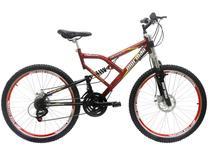 Bicicleta Mormaii Big Rider Aro 26 21 Marchas - Full Suspension Freio A Disco
