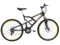 Bicicleta Mormaii Big Rider Disc Brake Aro 26 - 21 Marchas Full Suspension Freio A Disco