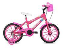 Bicicleta Mormaii Infantil Feminina Aro 16 Sweet Girl Rosa 20120 -