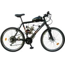 Bicicleta Motorizada 80cc 2 Tempos - Quadro de Aço Hi-Ten - Bicimoto