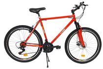 Bicicleta mountain bike - Aro 26 quadro de Aço Hi-Ten reforçado - Vermelha - Bicimoto