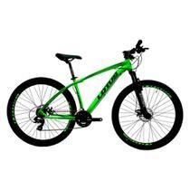 Bicicleta MTB Alúminio Cairu Lotus Aro 29 21 Marchas Shimano Freio à Disco Quadro 17.5 -