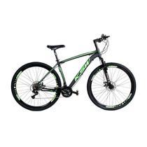 Bicicleta MTB Alumínio KSW Aro 29 Freio Disco Quadro Tam 17 Shimano - Kls