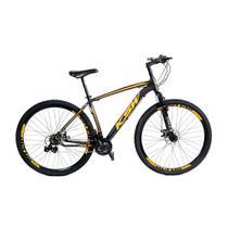 Bicicleta MTB Alumínio KSW Aro 29 Freio Disco Quadro Tam 19 Shimano - Kls