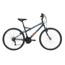 Bicicleta MTB Aro 26 Caloi Montana Freios V-Brake 21 Marchas Azul -