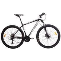 Bicicleta MTB Aro 29 21V Alumínio Quadro 17 Câmbio Shimano Rhino Branca - Mobele