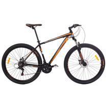 Bicicleta MTB Aro 29 21V Alumínio Quadro 17 Câmbio Shimano Rhino Laranja - Mobele
