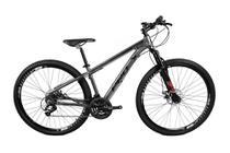 Bicicleta Mtb Aro 29 Freio Disc Mec 21v Prowest Grafite Susp -
