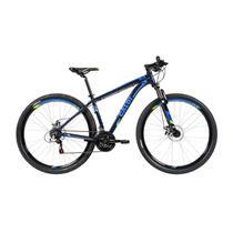 Bicicleta MTB Caloi 29 Aro 29 - Freio a Disco 21 Vel - Azul -