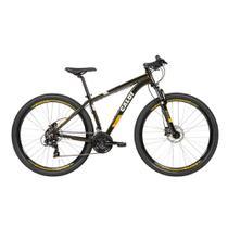 Bicicleta MTB Caloi 29 Susp Câmbio Shimano + Capacete -