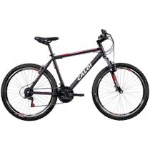 Bicicleta MTB Caloi Aluminum Sport Aro 26 - Quadro Alumínio - 21 Velocidades - Preto -