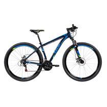 Bicicleta MTB Caloi Azul Aro 29 com 21 Velocidades -