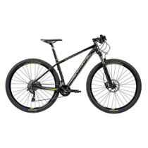 "Bicicleta MTB Caloi Blackburn Aro 29 - Susp Dianteira - Quadro 15"" - 20 Velocidades - Preto -"