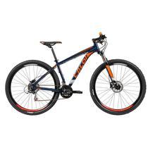 Bicicleta mtb caloi explorer sport 2019 - azul e laranja -