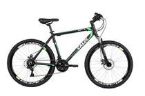 Bicicleta MTB Caloi HTX Disc Aro 26 - Susp Dianteira Freio a Disco Câmbio Shimano 21 Velocidades - P -