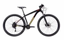 "Bicicleta Mtb Caloi Moab Aro 29 - 2021 - Shimano - Quadro 19"" - 18 Velocidades - Preto -"