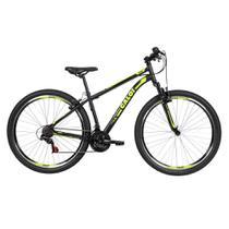 Bicicleta MTB Caloi Velox 2020 Aro 29 Parede Dupla - Susp Diant - 21 Velocidades - Preto -