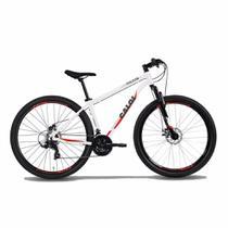Bicicleta MTB Caloi Vulcan Aro 29 - 17'' - 21 Velocidades - Branco -