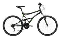 Bicicleta MTB Caloi XRT Aro 26 - Susp Dianteira e Traseira - 21 Vel - Preto -