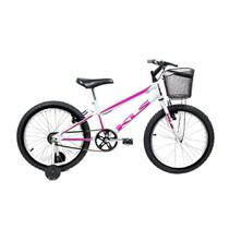Bicicleta Mtb Kls Free Aro 20 Freio V-Brake Feminina Roda Lateral -