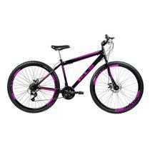 Bicicleta Mtb Kls Sport Gold Aro 29 Freio Disco 21 Marchas Shimano -