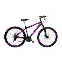 Bicicleta Mtb Kls Sport Gold Aro 29 Suspensão Câmbio Shimano Freio Disco 21 Marchas -