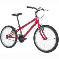 Bicicleta MTB Podium Aro 20 Masculina Vermelha - Polimet -
