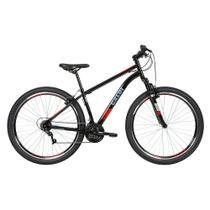Bicicleta MTB Two Niner Aro 29 Parede Dupla - Susp Dianteira - Quadro Aço - 21 Velocidades - Preto - Caloi