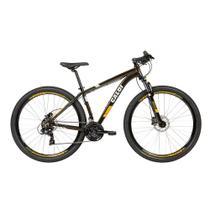 Bicicleta MTB Two Niner Pro Aro 29 - Suspensão Câmbio Shimano Freio a Disco 21 Vel - Verde Metálico - Caloi