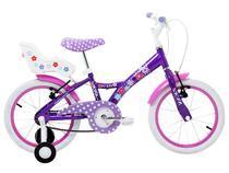 Bicicleta My Bike Aro 16 Freio V Brake   - com Cadeirinha para Boneca - Tito