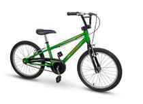 Bicicleta Nathor Infantil Aro 20 Army Aro Alumínio Com Pezinho -