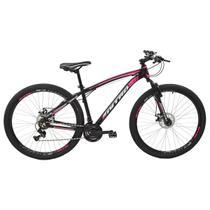 Bicicleta Nitro Aro 29 Polimet Alumínio Freio A Disco 21 Marchas Rosa -