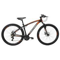 Bicicleta Nitro Aro 29 Polimet Alumínio Freio A Disco 21V Laranja -