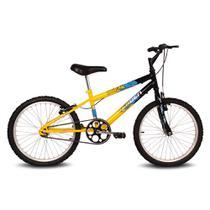 Bicicleta Ocean - Aro 20 - Preto e Amarelo - Verden Bikes -