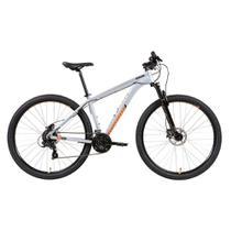 Bicicleta para Adulto Caloi 29, Aro 29, 24 Marchas, Freio a Disco, Branca -