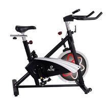 Bicicleta Para Spinning Acte Pro E27 Preto e Vermelho -