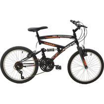 Bicicleta Polimet Eagle Full Suspension Aro 20 V-brake Infantil 18v - Poli Sports