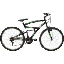 Bicicleta Polimet Eagle Full Suspension Aro 26 V-brake 21v - Poli Sports