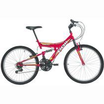 Bicicleta Polimet Kanguru Full Suspension Aro 24 V-brake 18v - Poli Sports