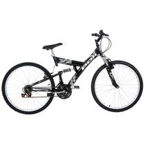 Bicicleta Polimet Kanguru Full Suspension Aro 24 V-brake 18v - Poli sports