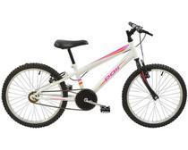 Bicicleta Polimet MTB Aro 20 Feminina Branca -